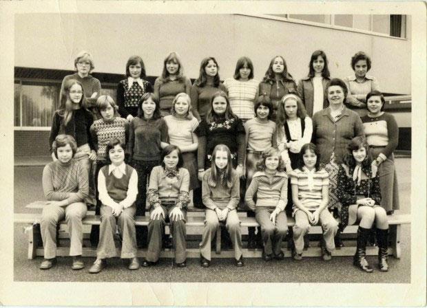 Maedchenklasse1975